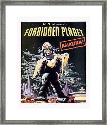 Forbidden Planet  Framed Print by Silver Screen
