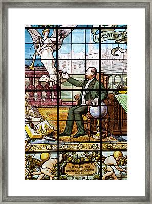 France, Normandy, Fecamp, Palais Framed Print by Walter Bibikow