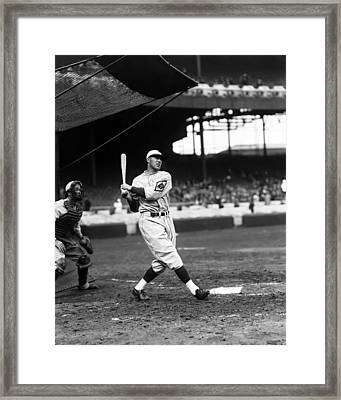 Francis J. Lefty O'doul Framed Print by Retro Images Archive