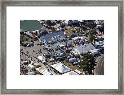Fryeburg Fair, Maine Me Framed Print by Dave Cleaveland