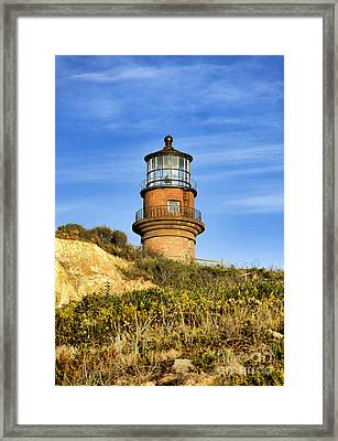 Gay Head Lighthouse Framed Print by John Greim