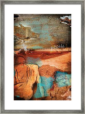 Genesis 1 Framed Print by Switchvues Design