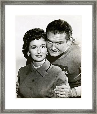 George Reeves In Adventures Of Superman  Framed Print by Silver Screen