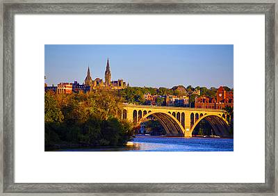 Georgetown Framed Print by Mitch Cat