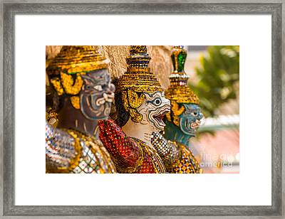 Giant Framed Print by Tosporn Preede