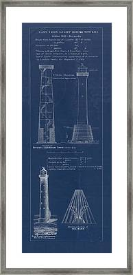 Gibbs Hill Lighthouse Framed Print by Jerry McElroy