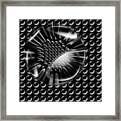 Glass Ball Framed Print by Evgeniy Lankin