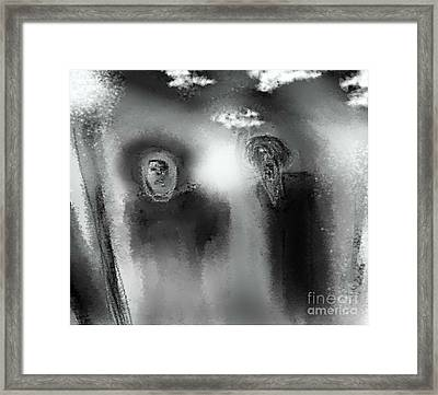 God As My Witness Framed Print by Ruth Clotworthy