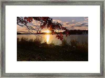 Goddard Marina Framed Print by Lourry Legarde