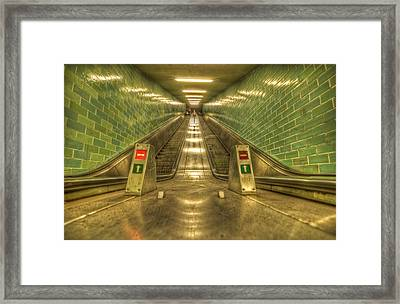 Going Up Framed Print by Nathan Wright