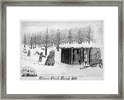 Gold Rush, 1859 Framed Print by Granger