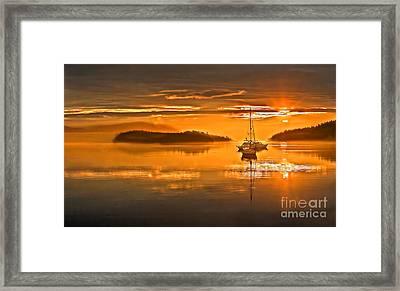 Golden  Sunrise Framed Print by Robert Bales