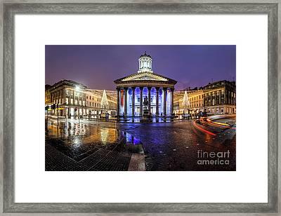 Goma Glasgow Framed Print by John Farnan
