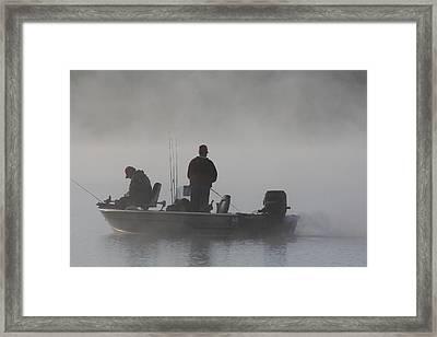 Gone Fishing Framed Print by Bruce Bley