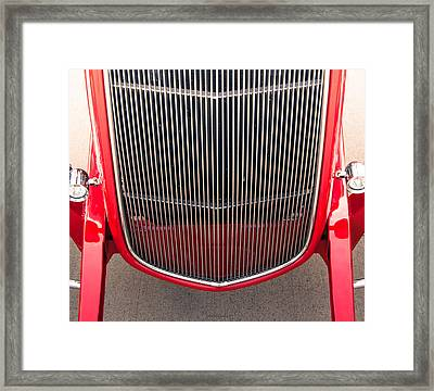 Grill Works Framed Print by Steven Milner