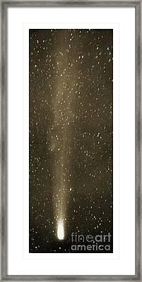 Halleys Comet In May 1910 Framed Print by Detlev van Ravenswaay