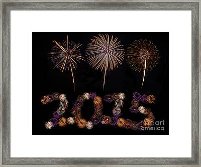 Happy New Year Framed Print by Anek Suwannaphoom