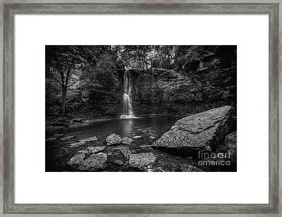 Hayden Falls Framed Print by James Dean