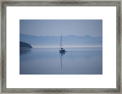 Heading Out Framed Print by Ron Roberts