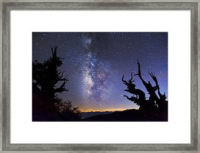 Heavens Gate Framed Print by Cat Connor