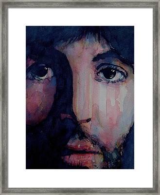 Hey Jude Framed Print by Paul Lovering