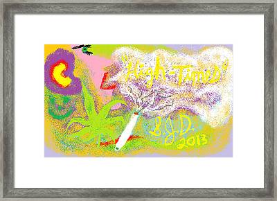 High Times Framed Print by Joe Dillon