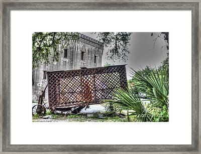 Horse Drawn Paddy Wagon Framed Print by Dale Powell