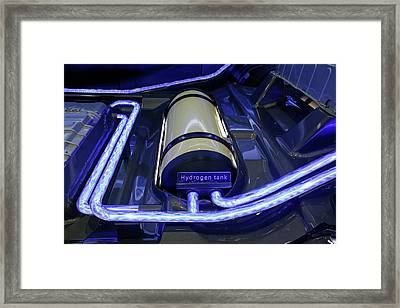 Hydrogen Fuel Cell Concept Car Framed Print by Jim West