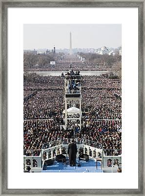 Inauguration Framed Print by JP Tripp