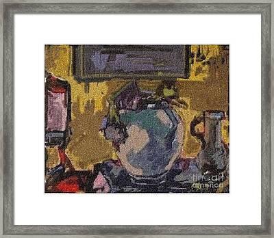 Interior Framed Print by Pemaro