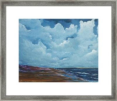 Irish Sky Framed Print by Conor Murphy