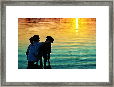 Island Framed Print by Laura Fasulo