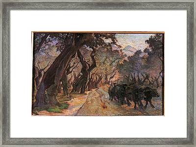 Italy, Lazio, Rome, National Gallery Framed Print by Everett