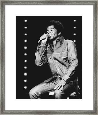 James Brown Framed Print by Retro Images Archive