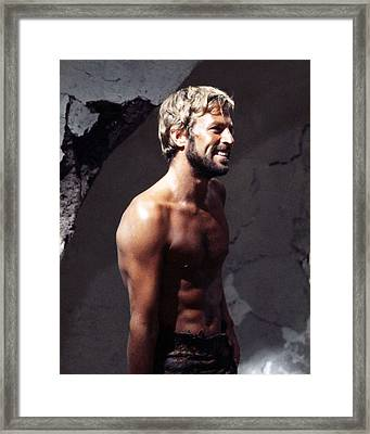 James Franciscus In Beneath The Planet Of The Apes  Framed Print by Silver Screen