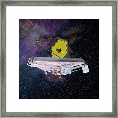 James Webb Space Telescope Framed Print by Nasa