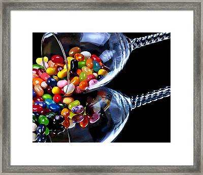 Jellies Framed Print by Camille Lopez