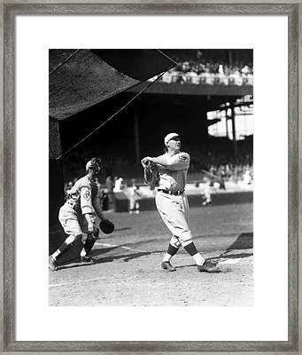John C. Jack Schulte Framed Print by Retro Images Archive