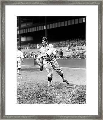 John H. Johnny Neun Framed Print by Retro Images Archive