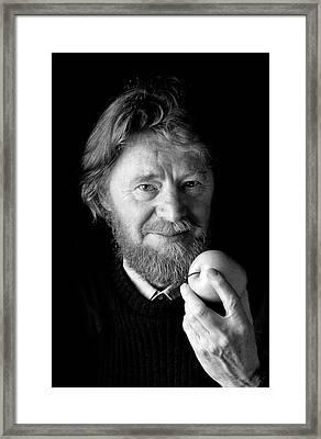 John Stewart Bell Framed Print by Peter Menzel