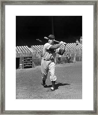 Johnny Rizzo Framed Print by Retro Images Archive