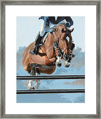 High Style  Framed Print by Lesley Alexander