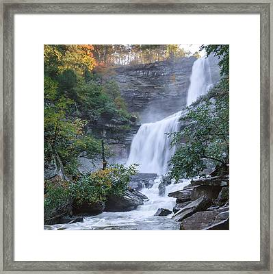 Kaaterskill Falls Square Framed Print by Bill Wakeley