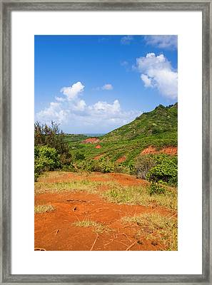 Kauai, Hawaii, Usa Framed Print by Micah Wright