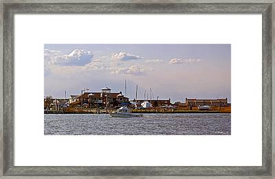 Kent Island Framed Print by Brian Wallace