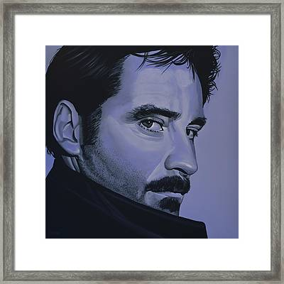 Kevin Kline Framed Print by Paul Meijering