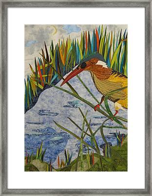 Kingfisher Framed Print by Lynda K Boardman