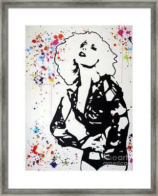 Lady Gaga Framed Print by Venus