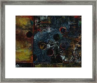 Late Night At The Office Framed Print by Cheryl Poulin