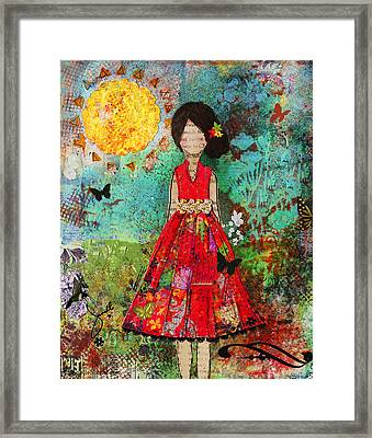 Let The Sun Shine In Framed Print by Janelle Nichol
